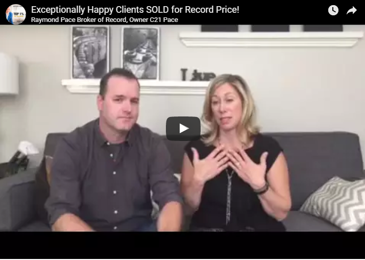 Thrilled Clients with Record Sale