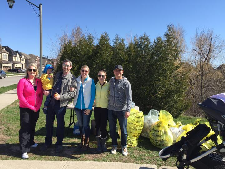 Another successful Earth Day Clean-up